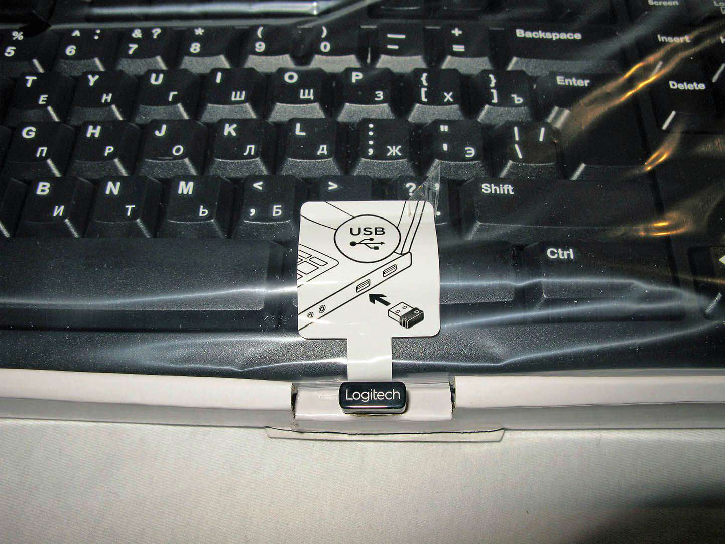 (920-003757) Клавиатура Беспроводная Logitech Wireless Keyboard K270