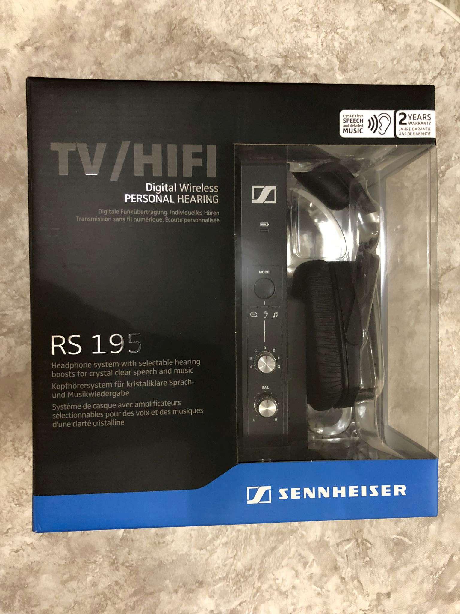 беспроводные наушники Sennheiser Rs 195 купить в интернет магазине