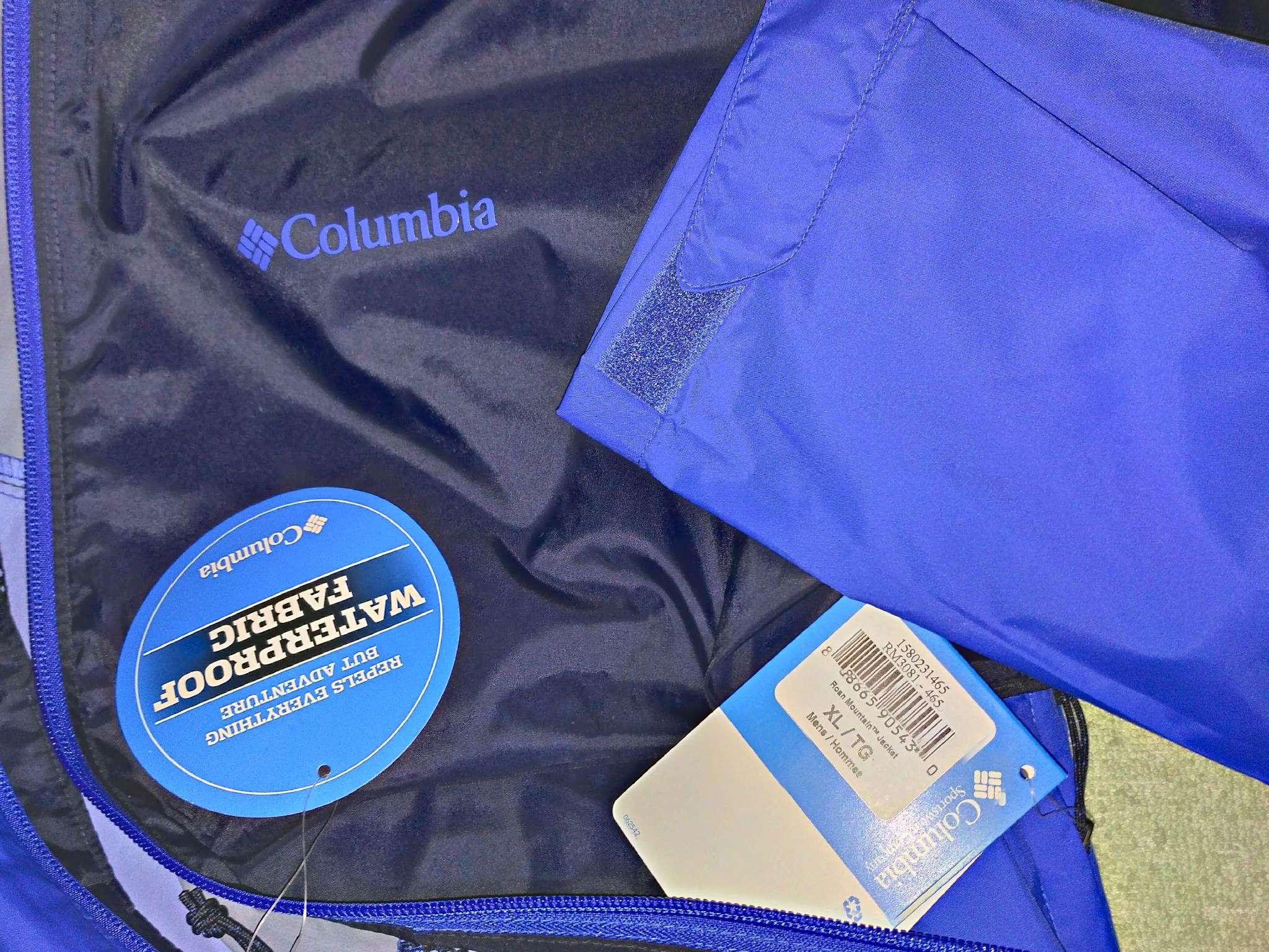 771eb74edd6d Ветровка Columbia 1580231-465 мужская, цвет синий, рус. размер 52 ...