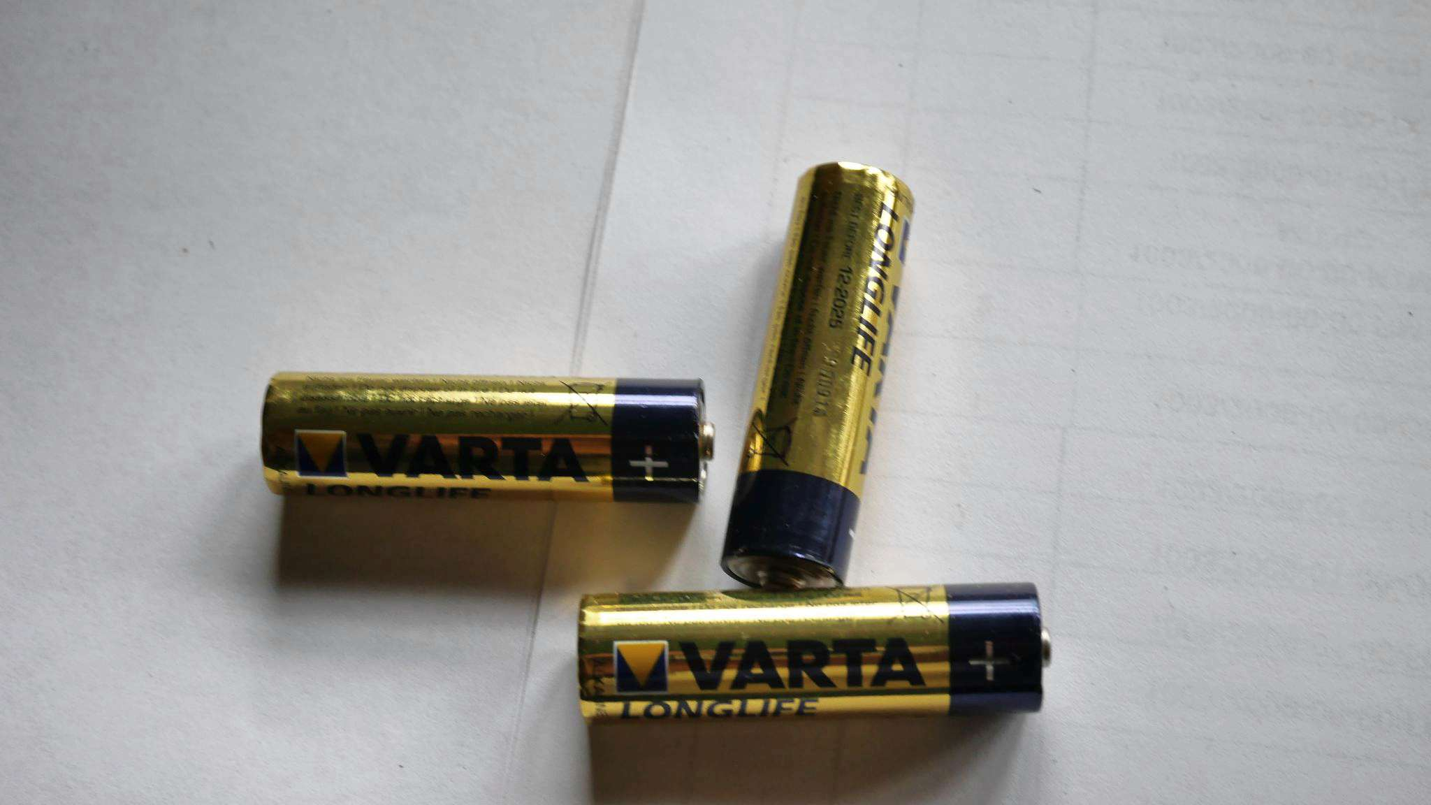 Батарейки Varta Longlife AAA 4 шт