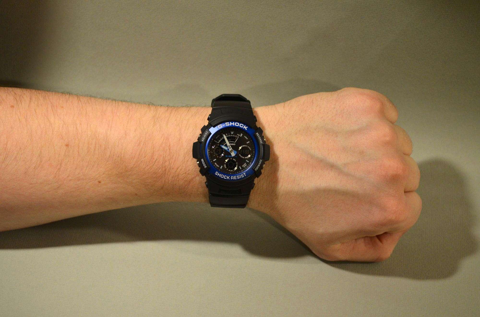 fb592dbddcc8 Наручные часы CASIO AW-591-2A