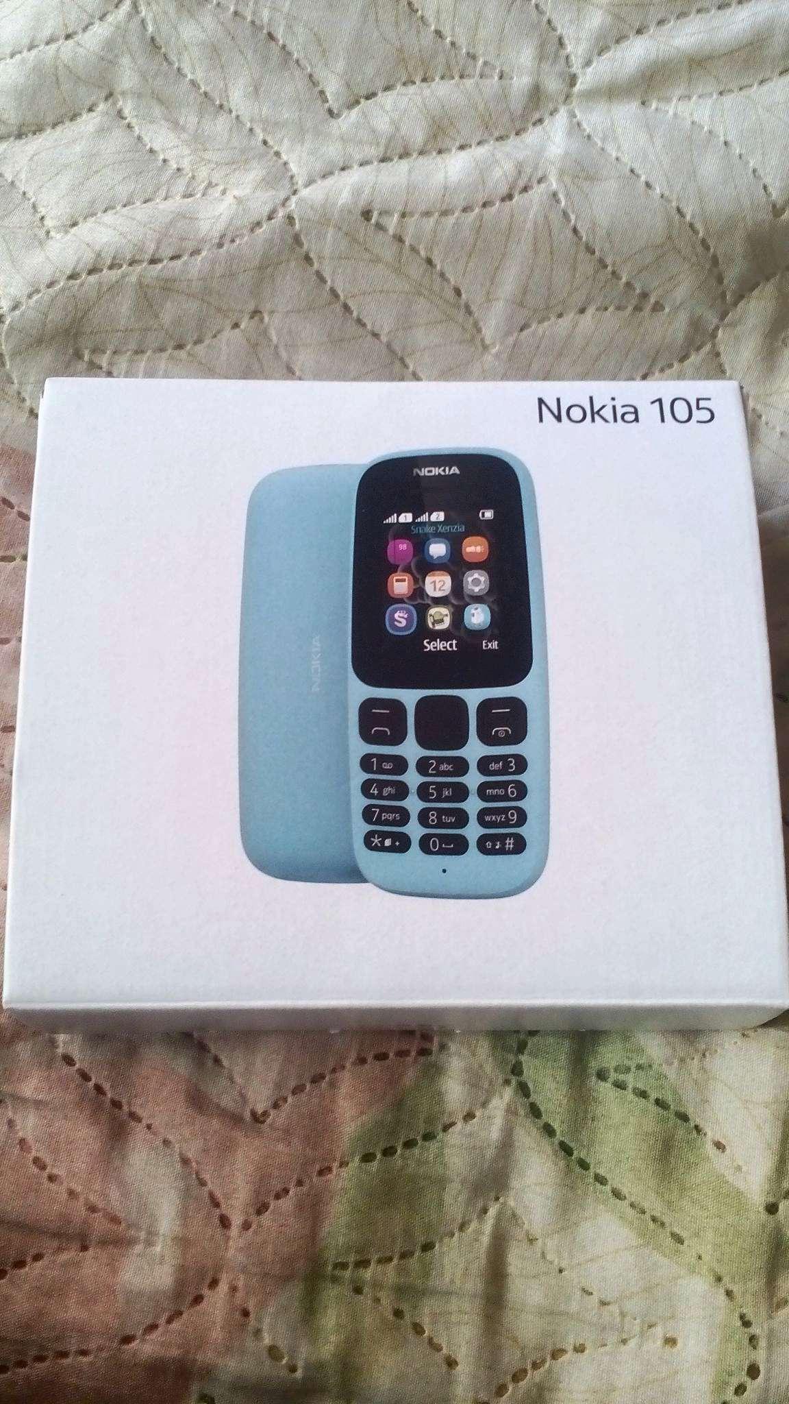 5f79d5bf10bc1 Мобильный телефон Nokia 105 Dual sim (TA-1034) Blue — купить в ...