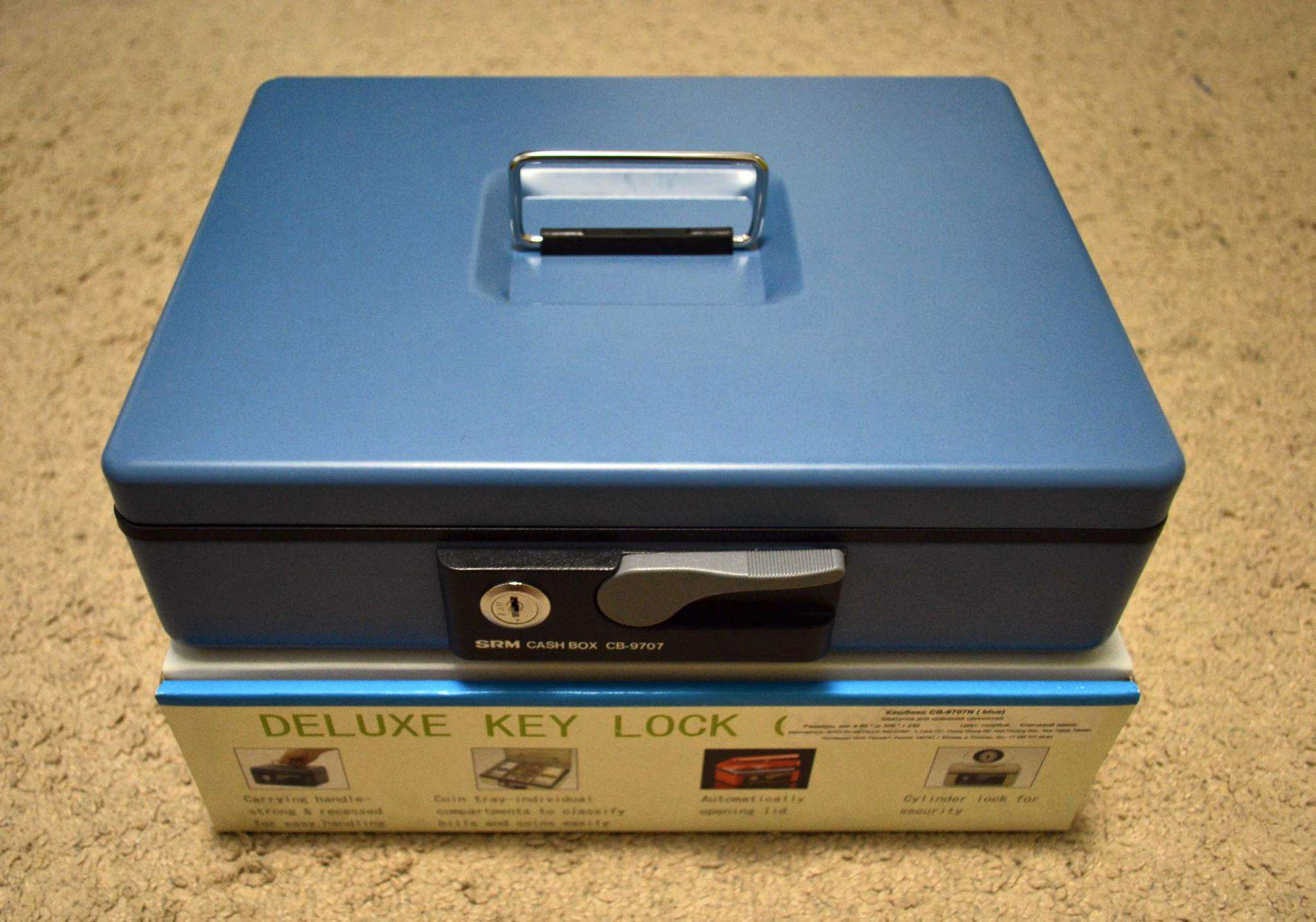 Кэшбокс CB-97 7N - Интернет магазин сейфов и