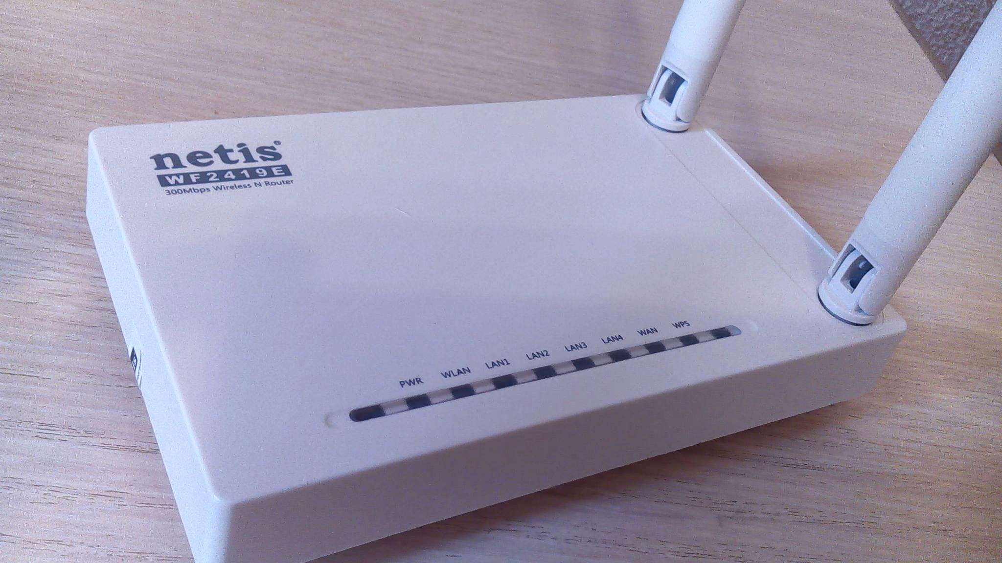 Wifi Netis Wf2419e 300mbps Wireless Router