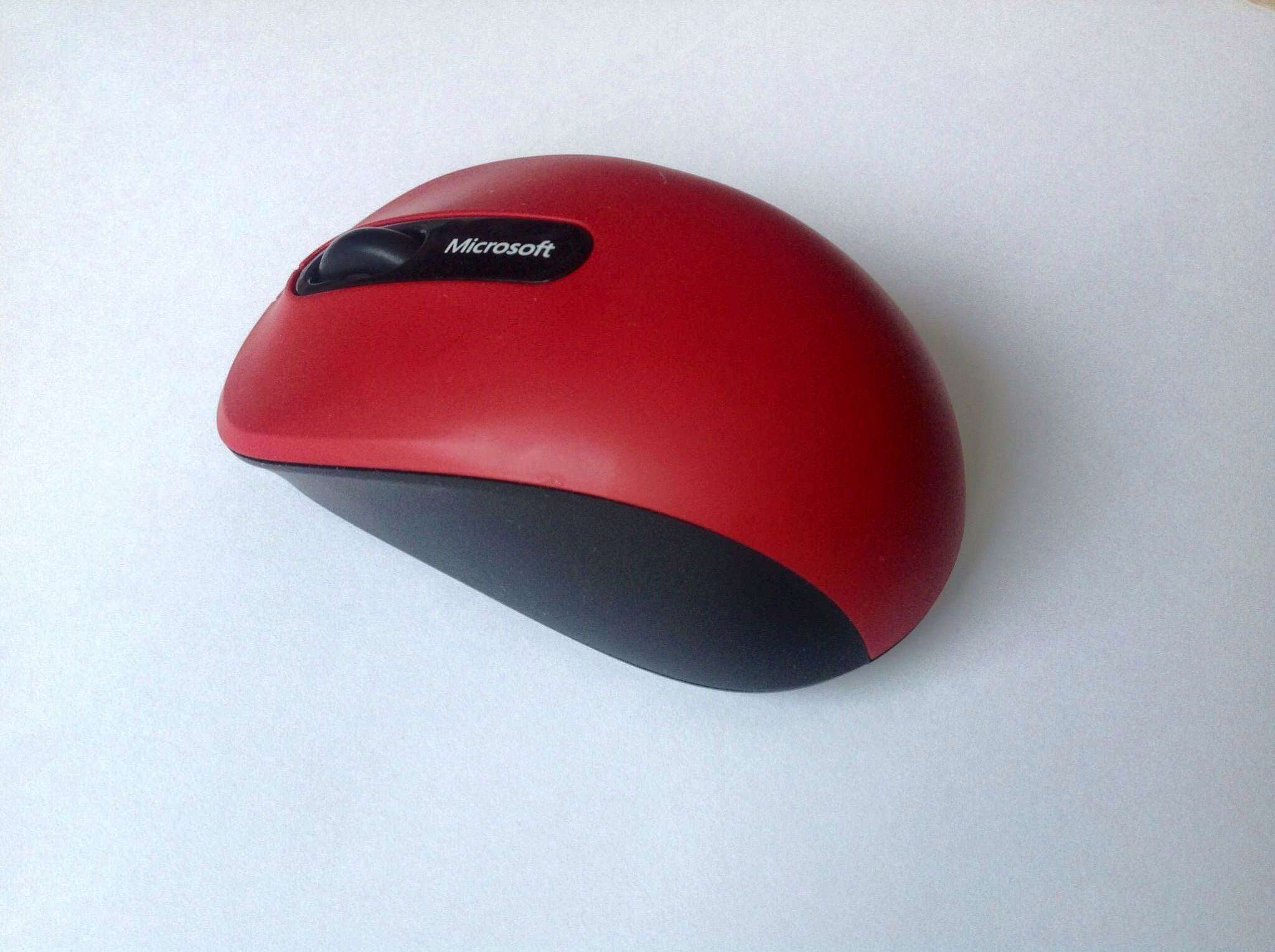 Microsoft Bluetooth Mobile Mouse 3600 Red Pn7 00014
