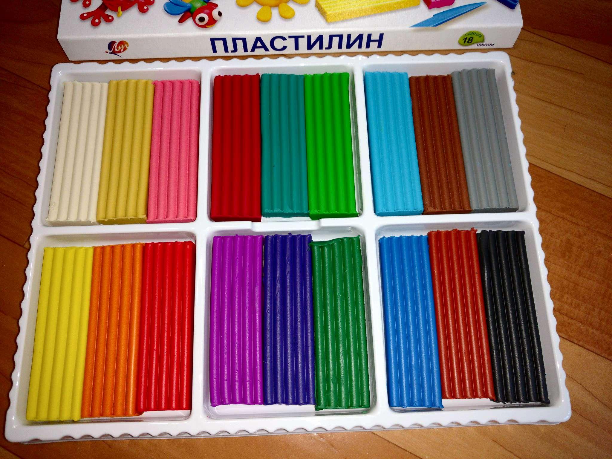 Картинки пластилина коробки