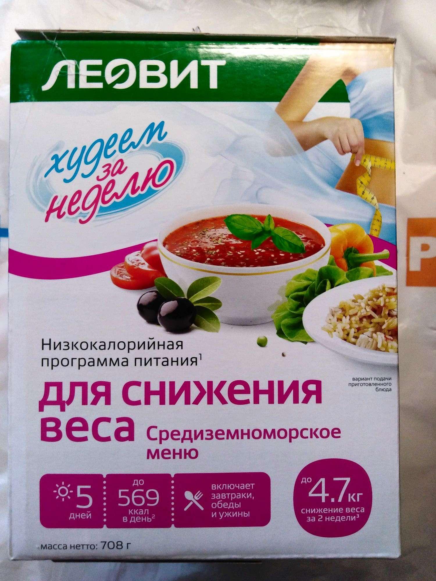 Быстро похудеть программа питания