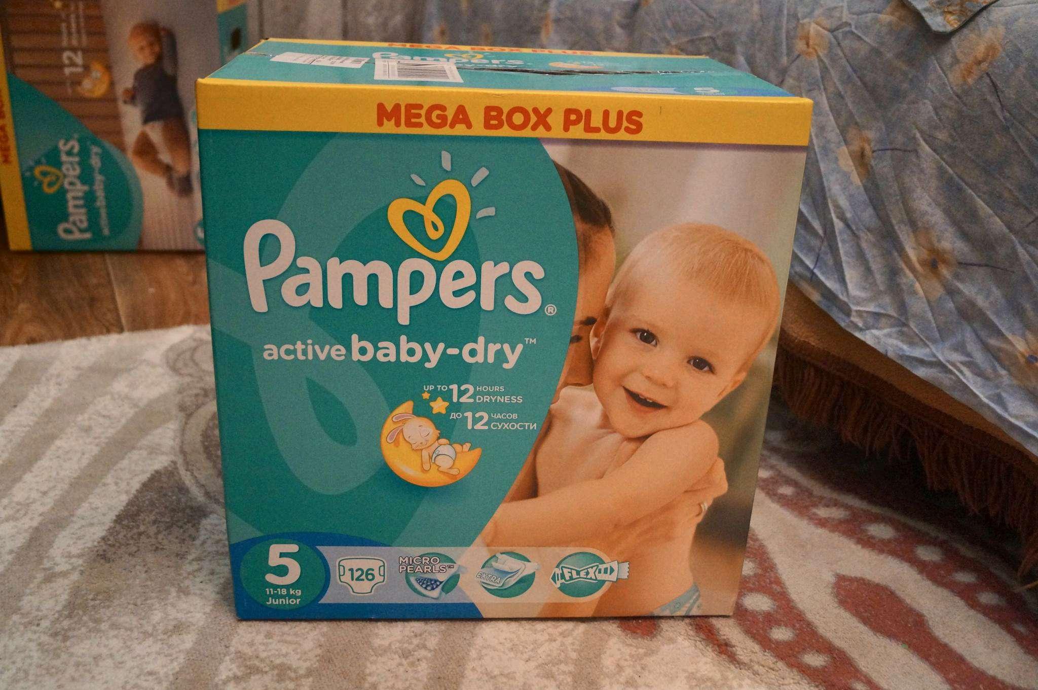 64e85a3cf9bb Подгузники Pampers Active Baby-Dry (Памперс Эктив Бэйби) 5 Junior ...
