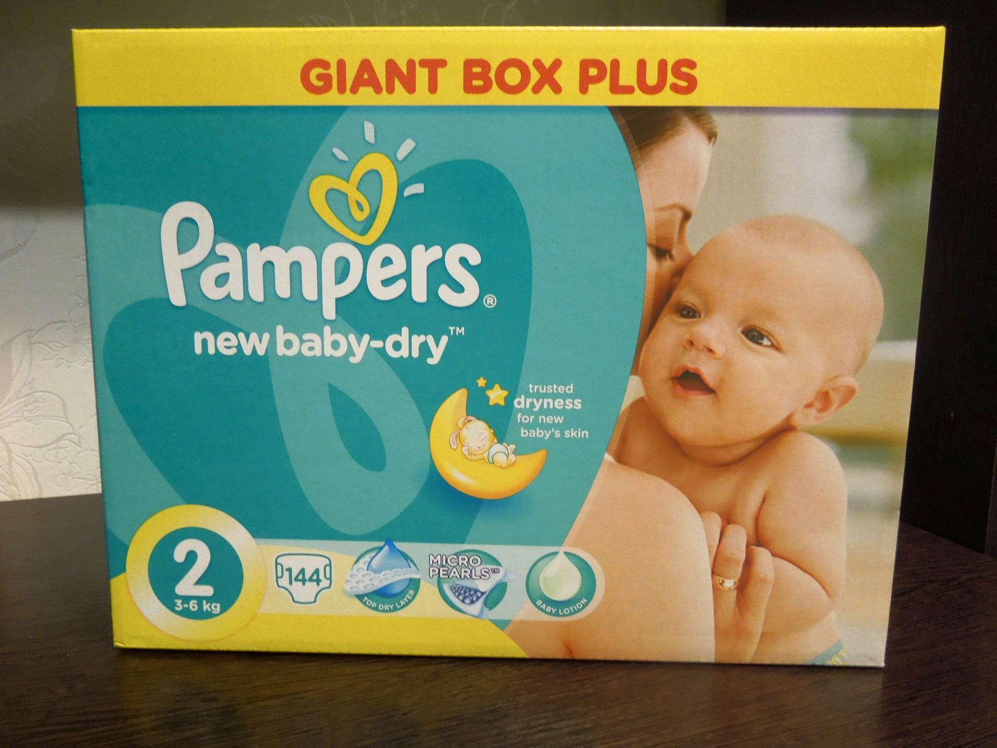 Подгузники Pampers New Baby-Dry (Памперс Нью Бэби) 2 Mini (3-6 кг ... f9b0649c7b0