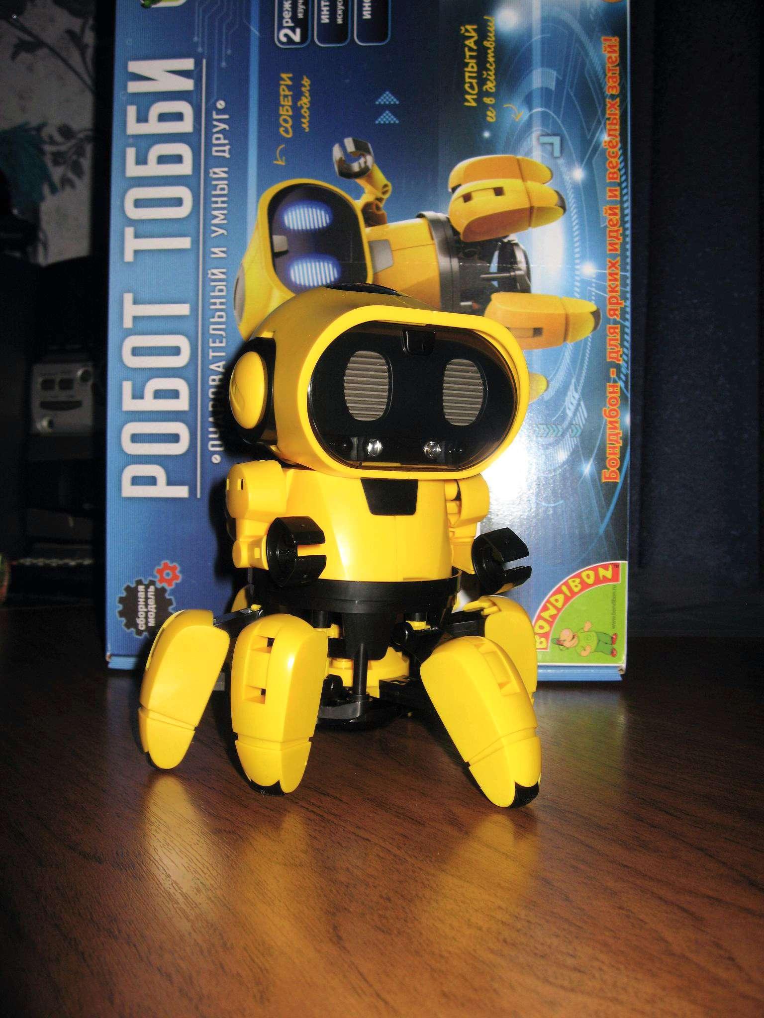 Интерактивный робот конструктор TOBBY в Серпухове