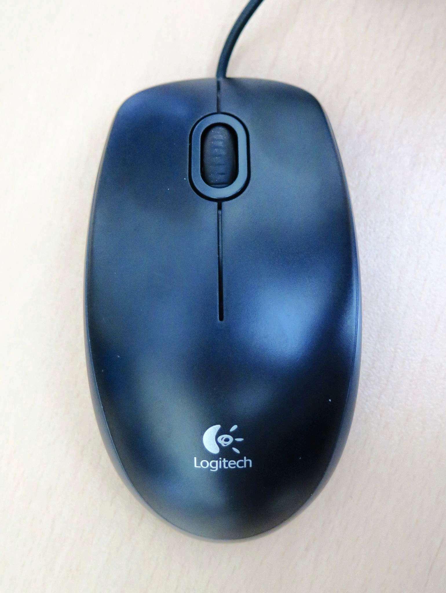 Мышь (910-003357) Logitech Optical B100 USB Black OEM