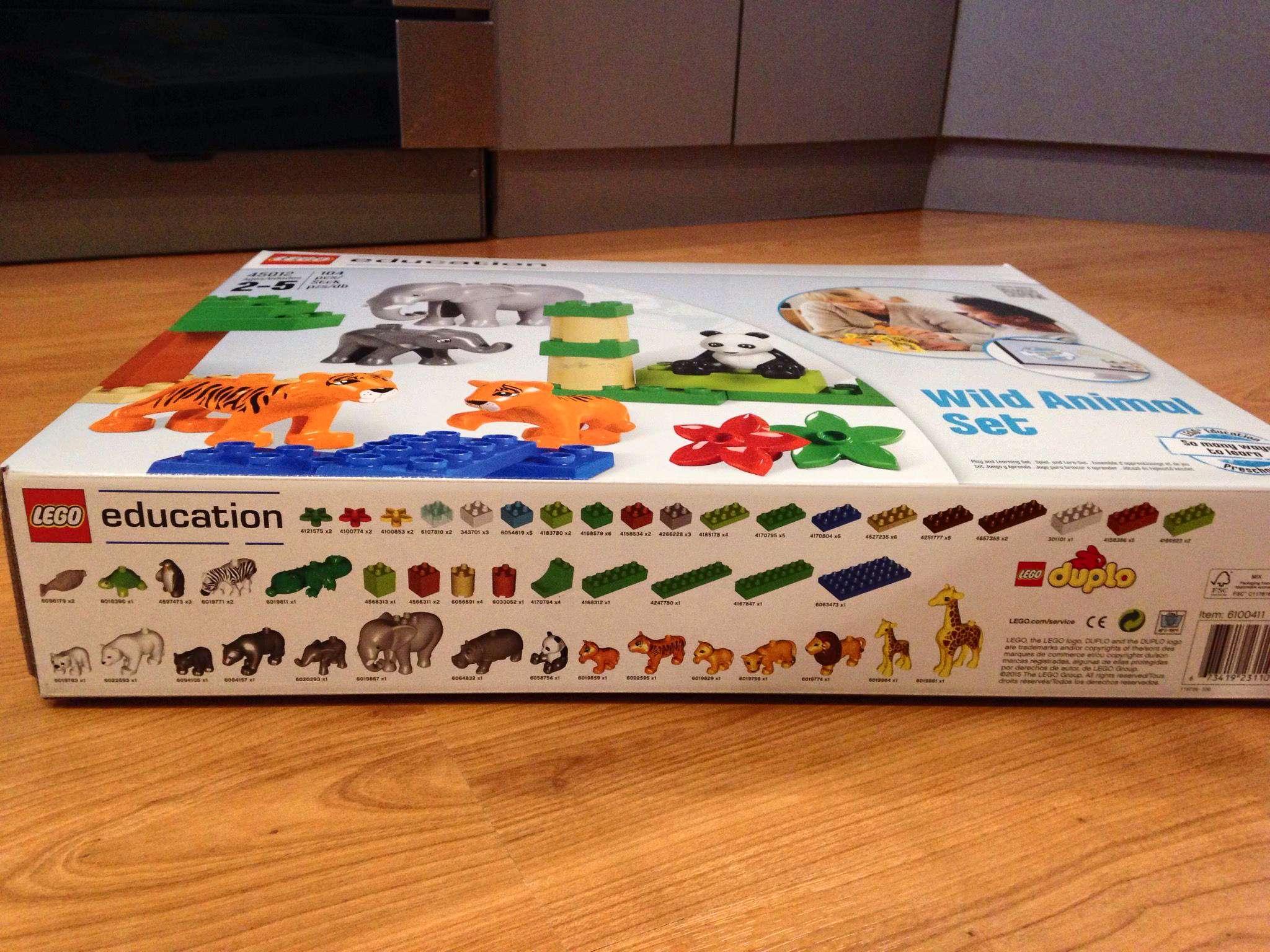 схема сборки лего зоопарк