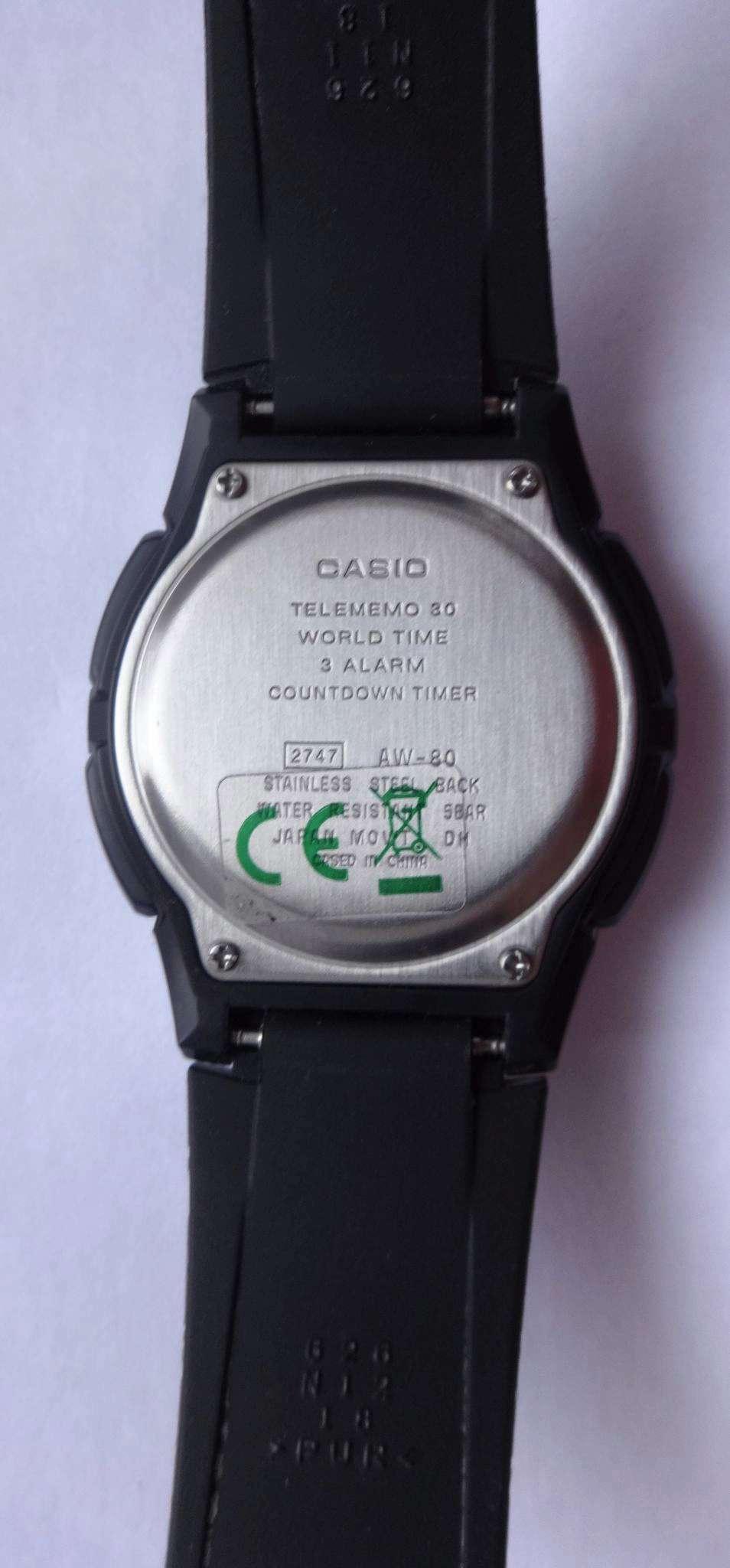 Инструкция на русском языке для часов casio aw 80 1avef