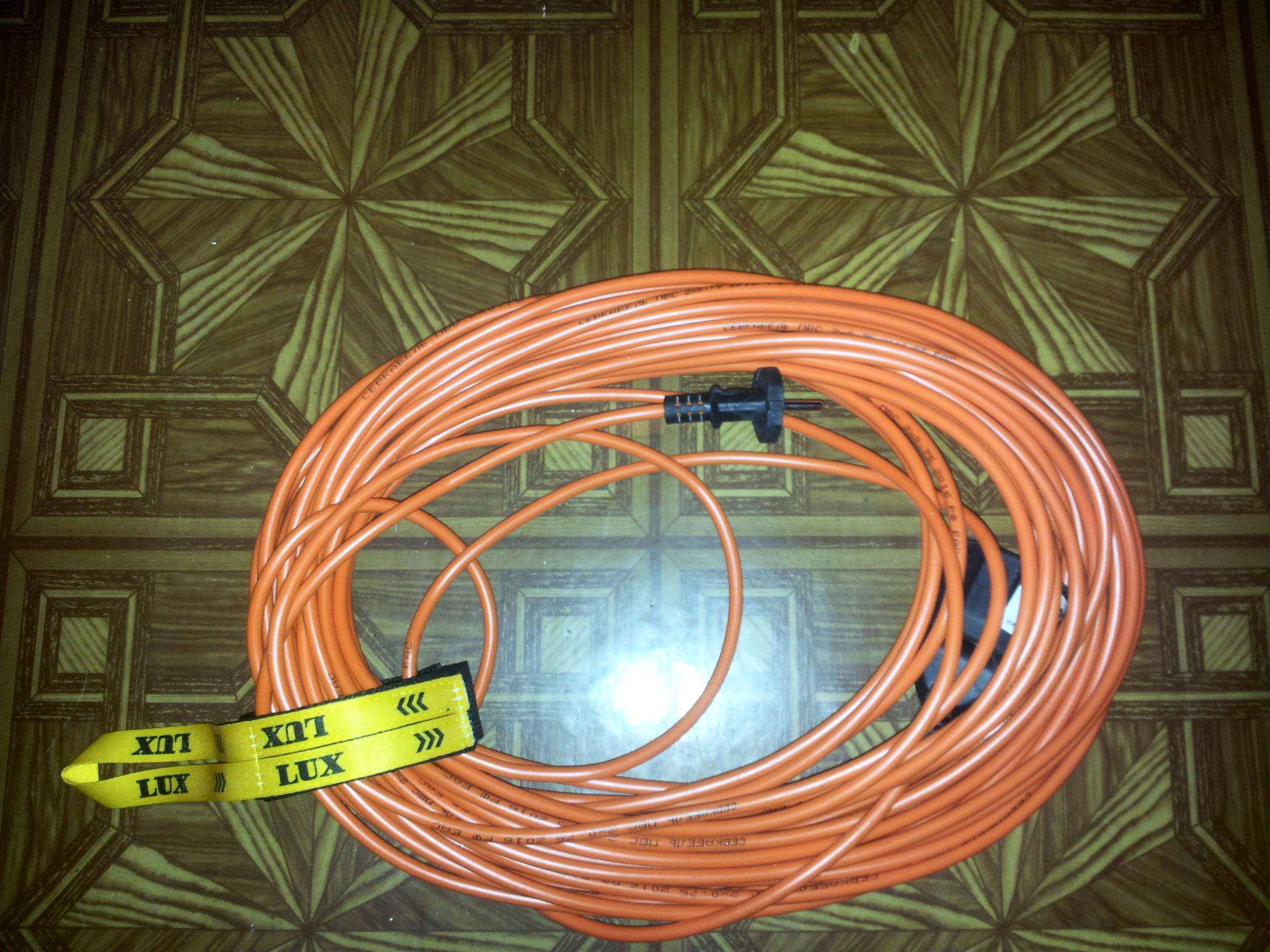 Удлинитель LUX 24150 К4-Е-50 50m 10A