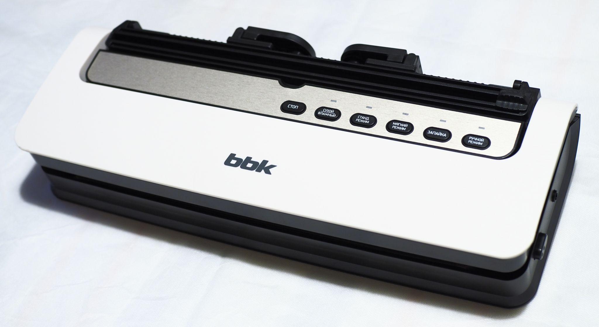 Вакуумный упаковщик bbk bvs801 описание нефтекамск массажеры