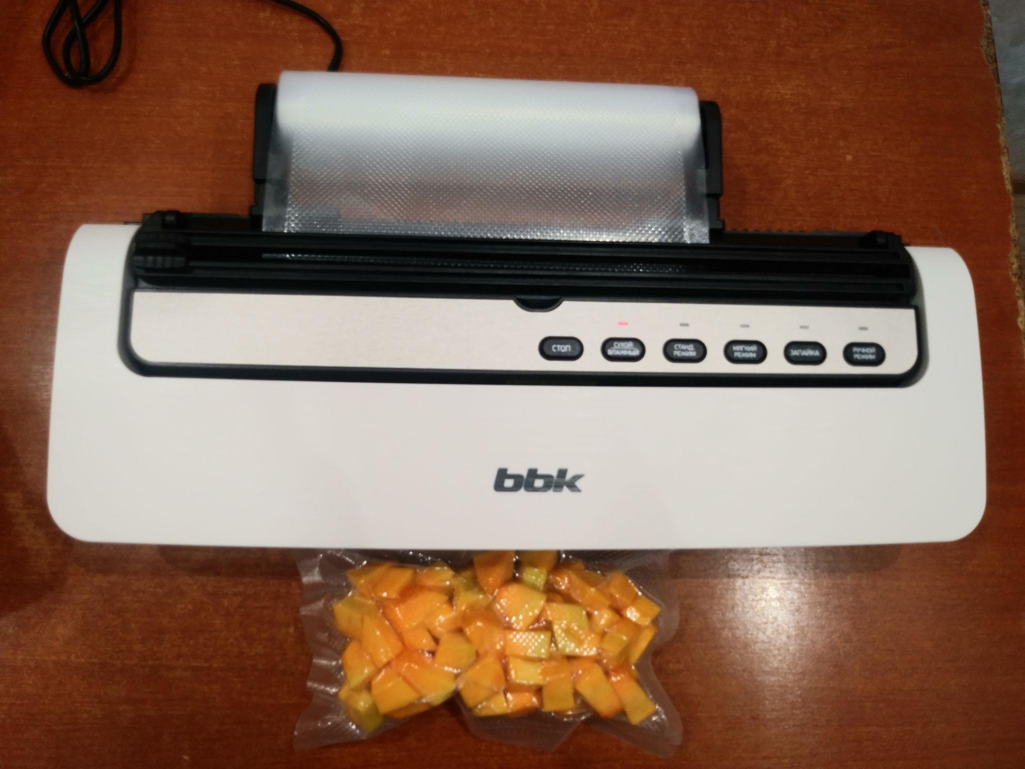 Bbk вакуумный упаковщик bvs801 купить массажеры электронные для плеч