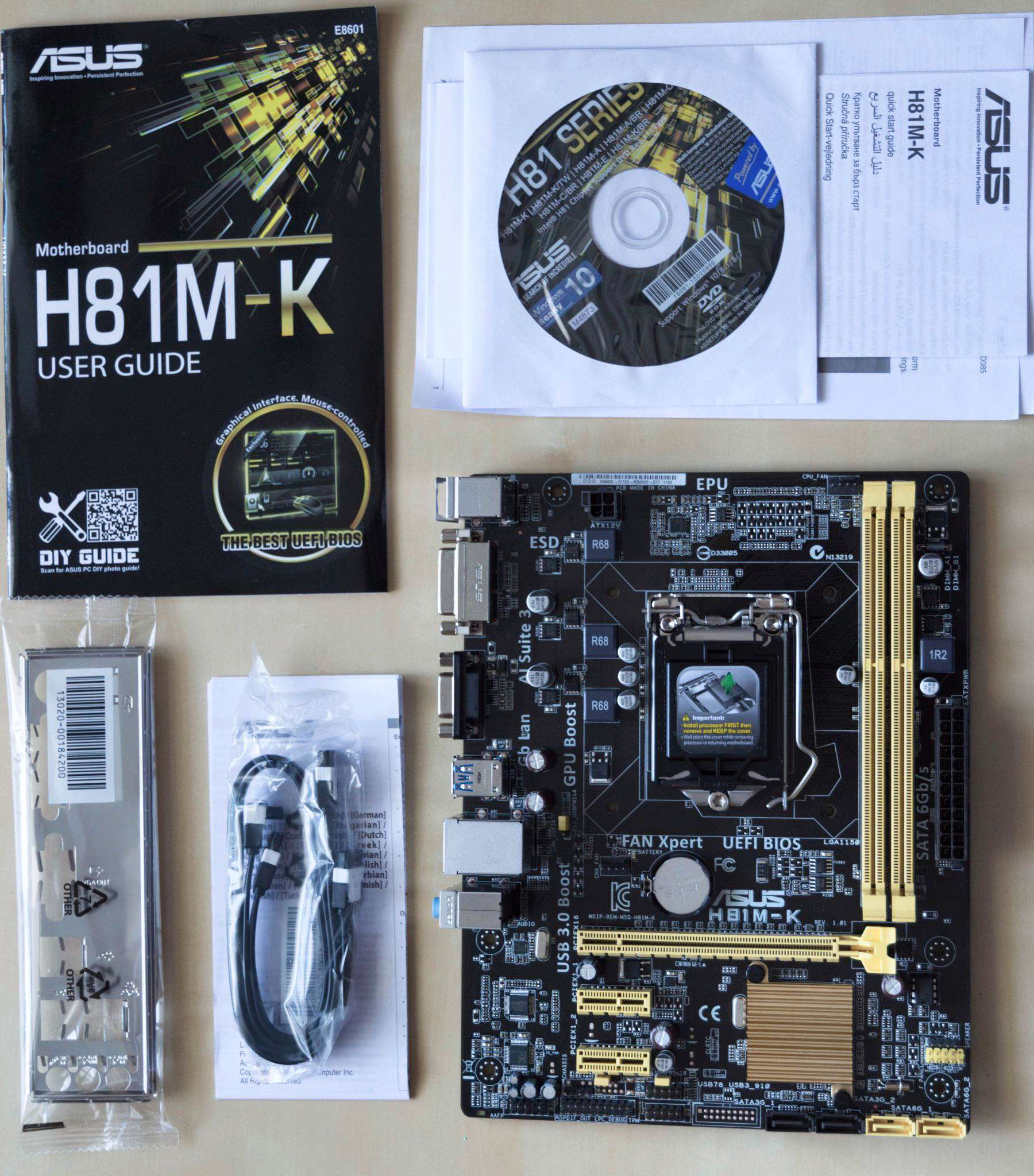 Asus H81M-K/BR Chipset Drivers for PC