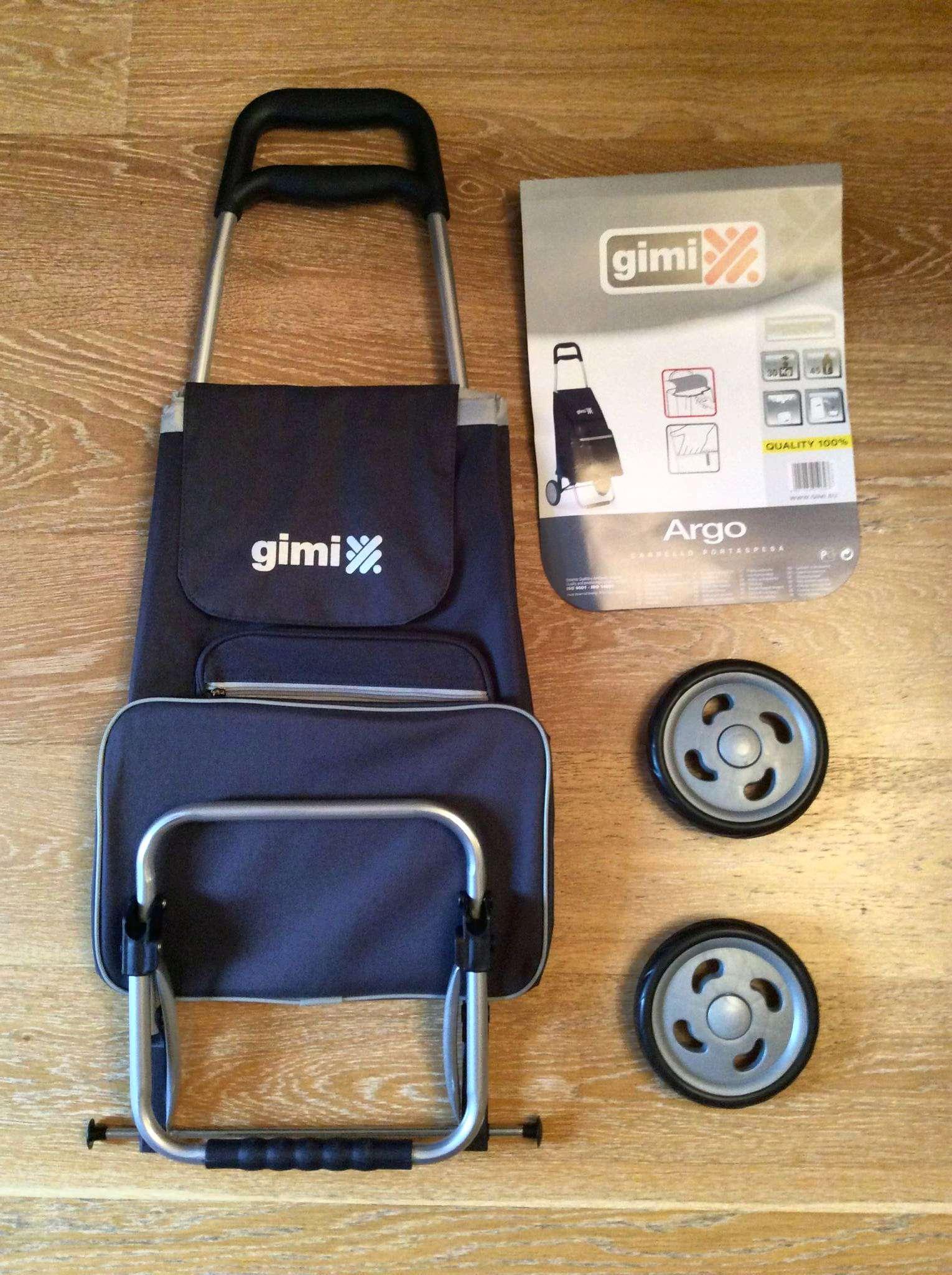 5ec3ff27e46e Сумка тележка GIMI Argo (синий) — купить в интернет-магазине ОНЛАЙН ...