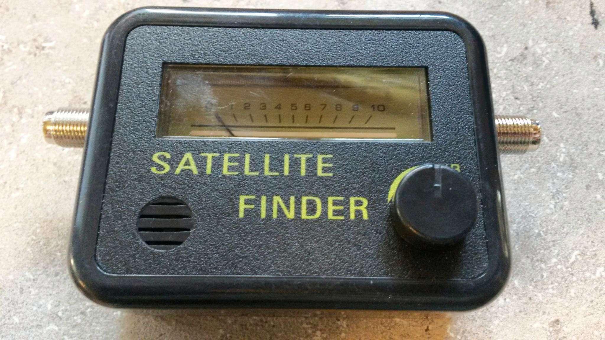 Прибор настройки спутниковых антенн своими руками