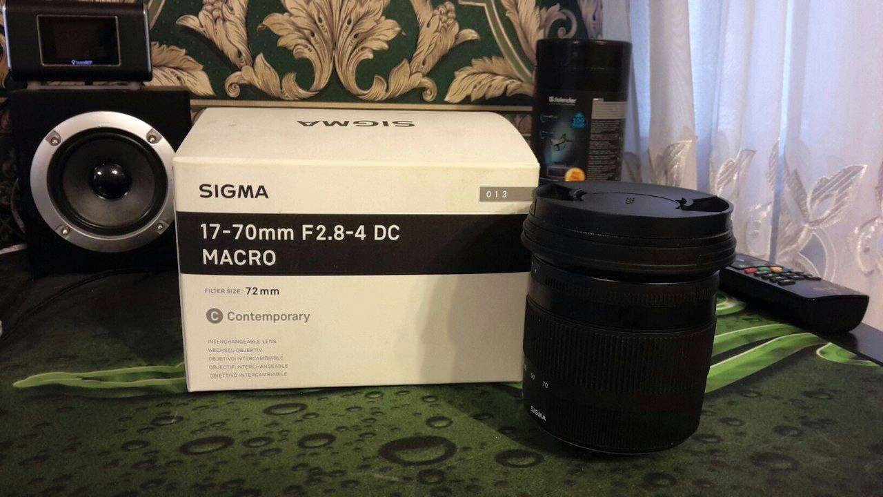 Объектив Sigma AF 17-70mm f/2.8-4.0 DC MACRO HSM new Contemporary Minolta A