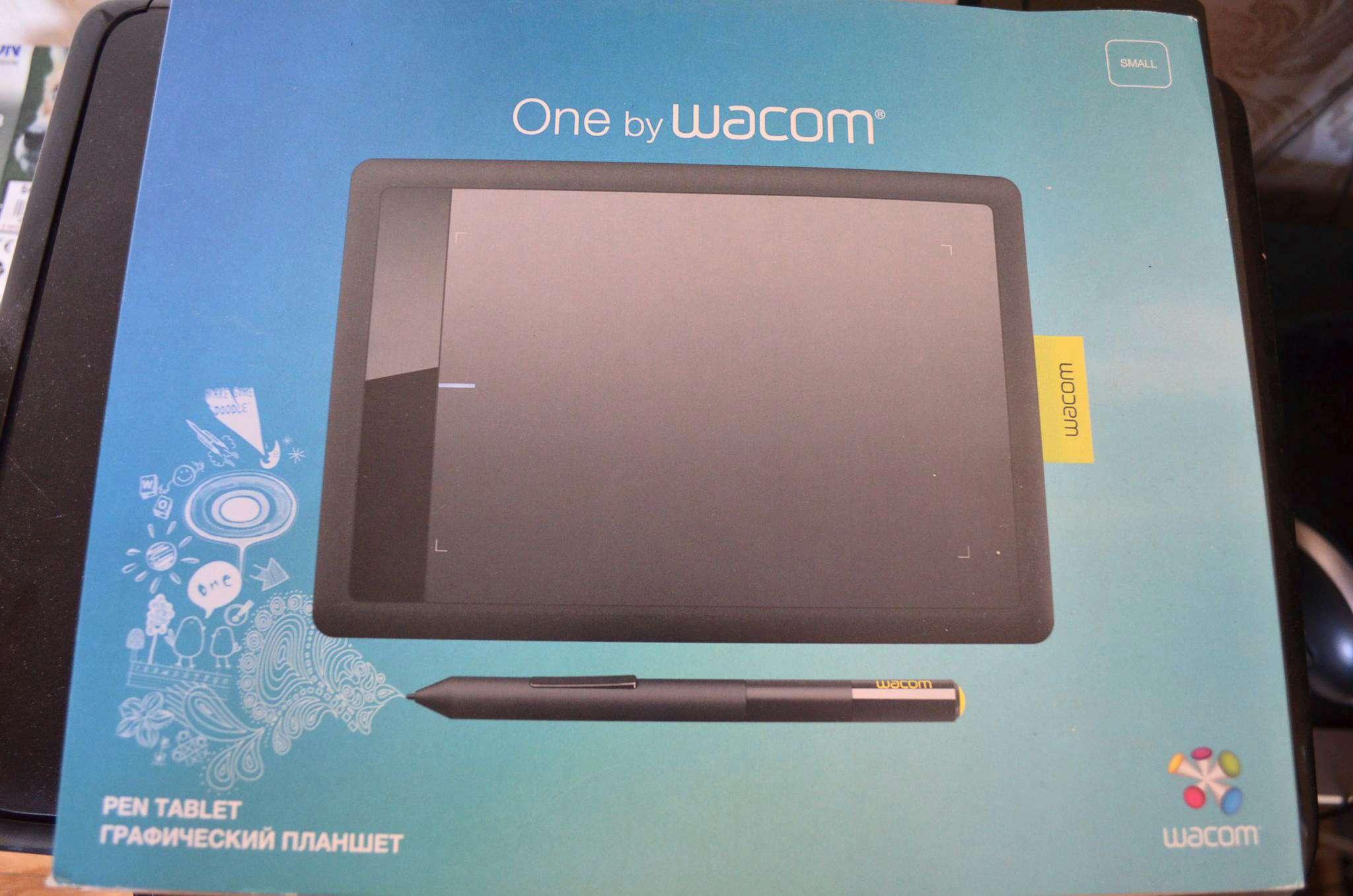 Планшет графический Wacom One S (Small) CTL-471