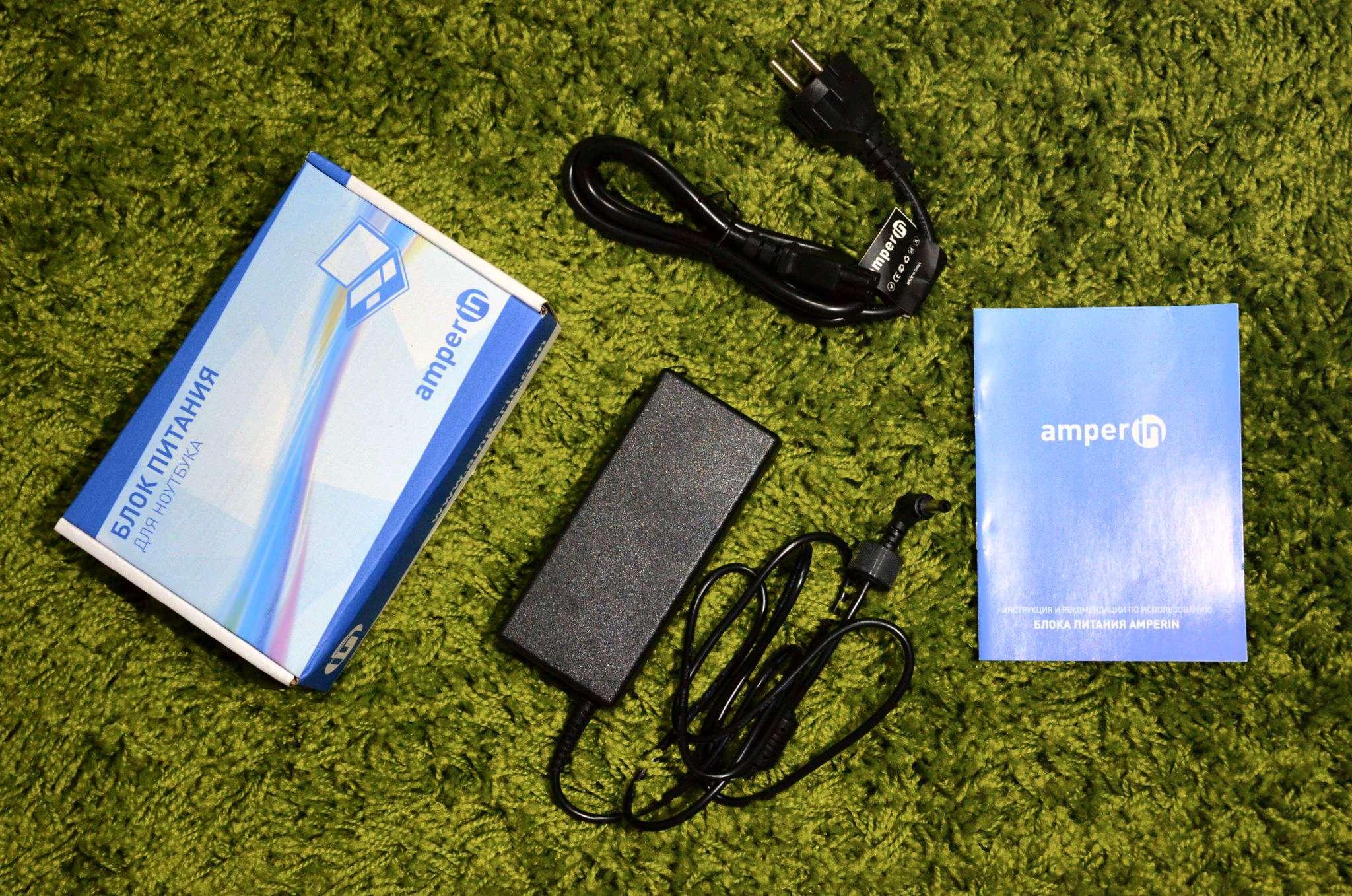Блок питания Amperin AI-SA90 для Samsung 19V 4.74A 5.0x3.0mm 90W