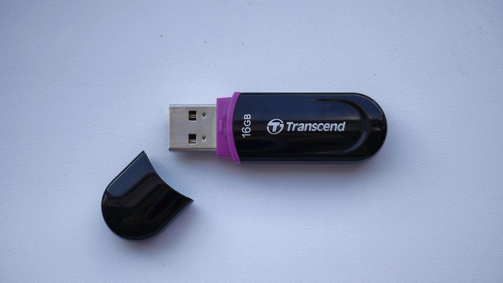 USB флешка Transcend 300  4GB (TS4GJF300)