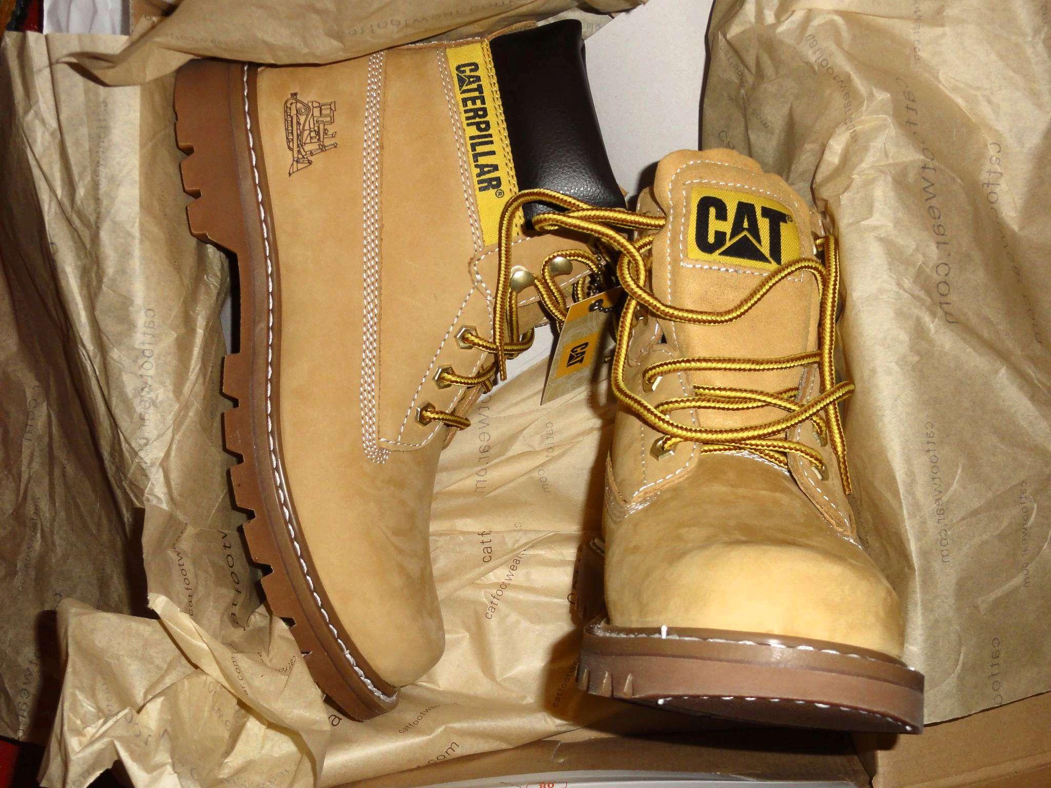 d3df72fad Ботинки Caterpillar COLORADO Men's Boots 44100 мужские, цвет желтый ...