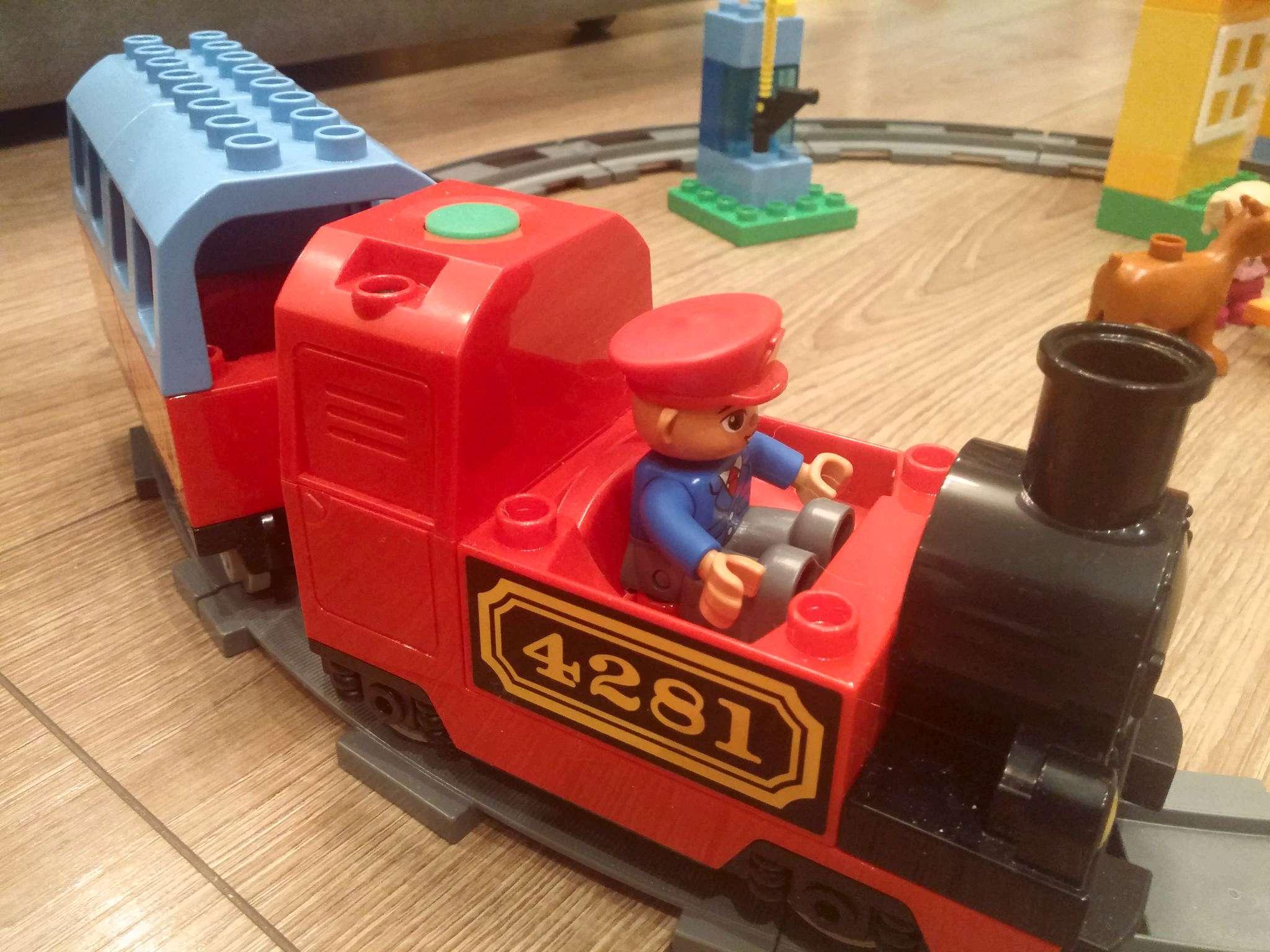 инструкция лего красный поезд