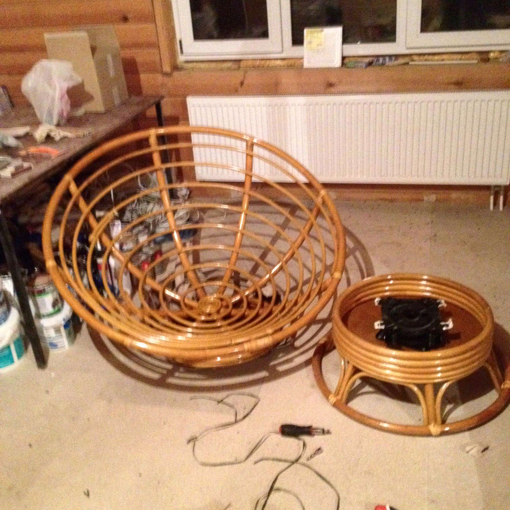 инструкция сборки кресла качалки папасан
