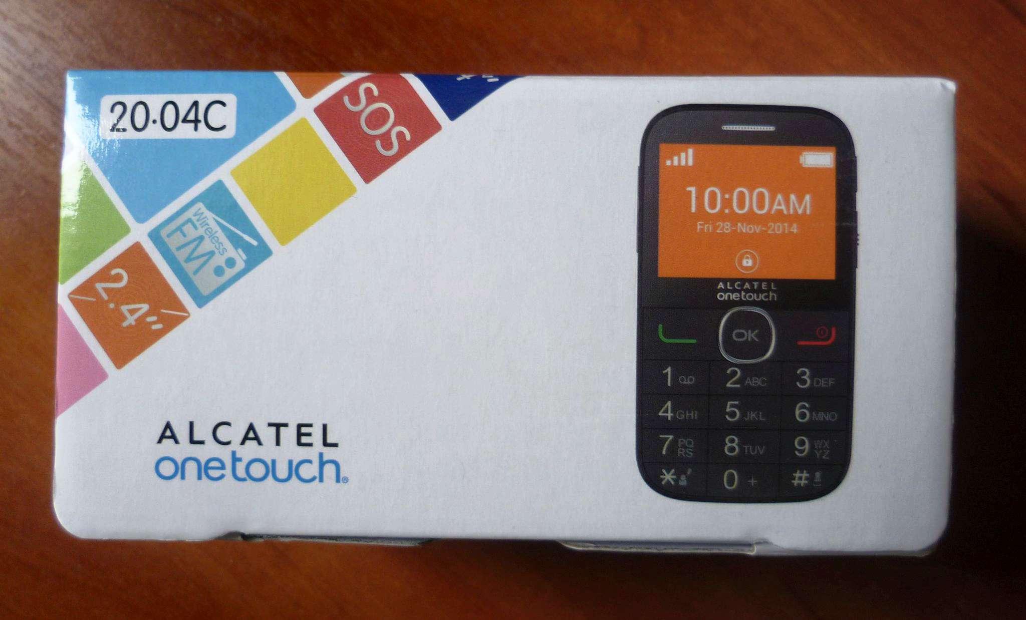 Как на контакт поставить alcatel one touch