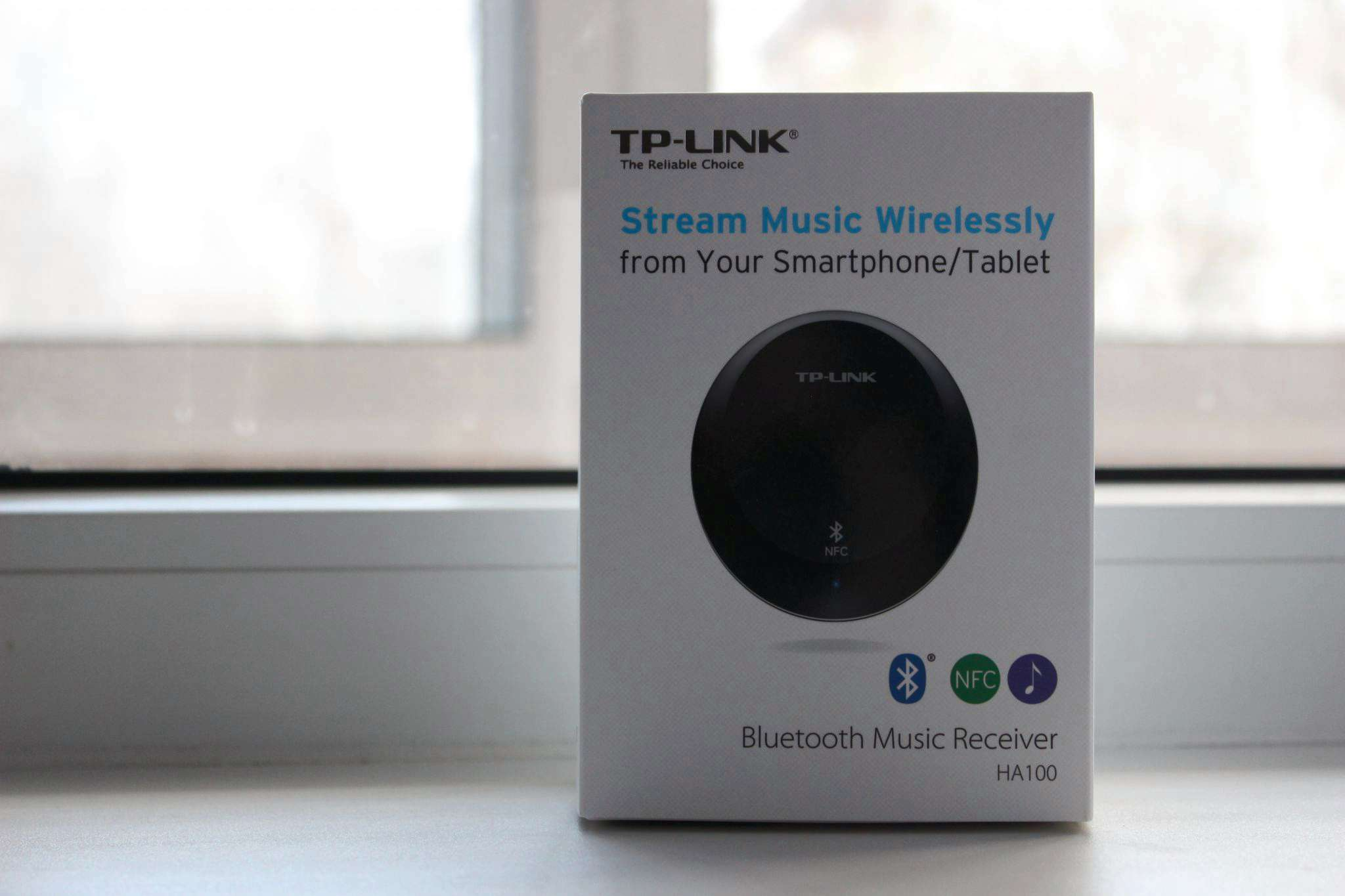 Адаптер TP-Link HA100 Музыкальный Bluetooth-ресивер