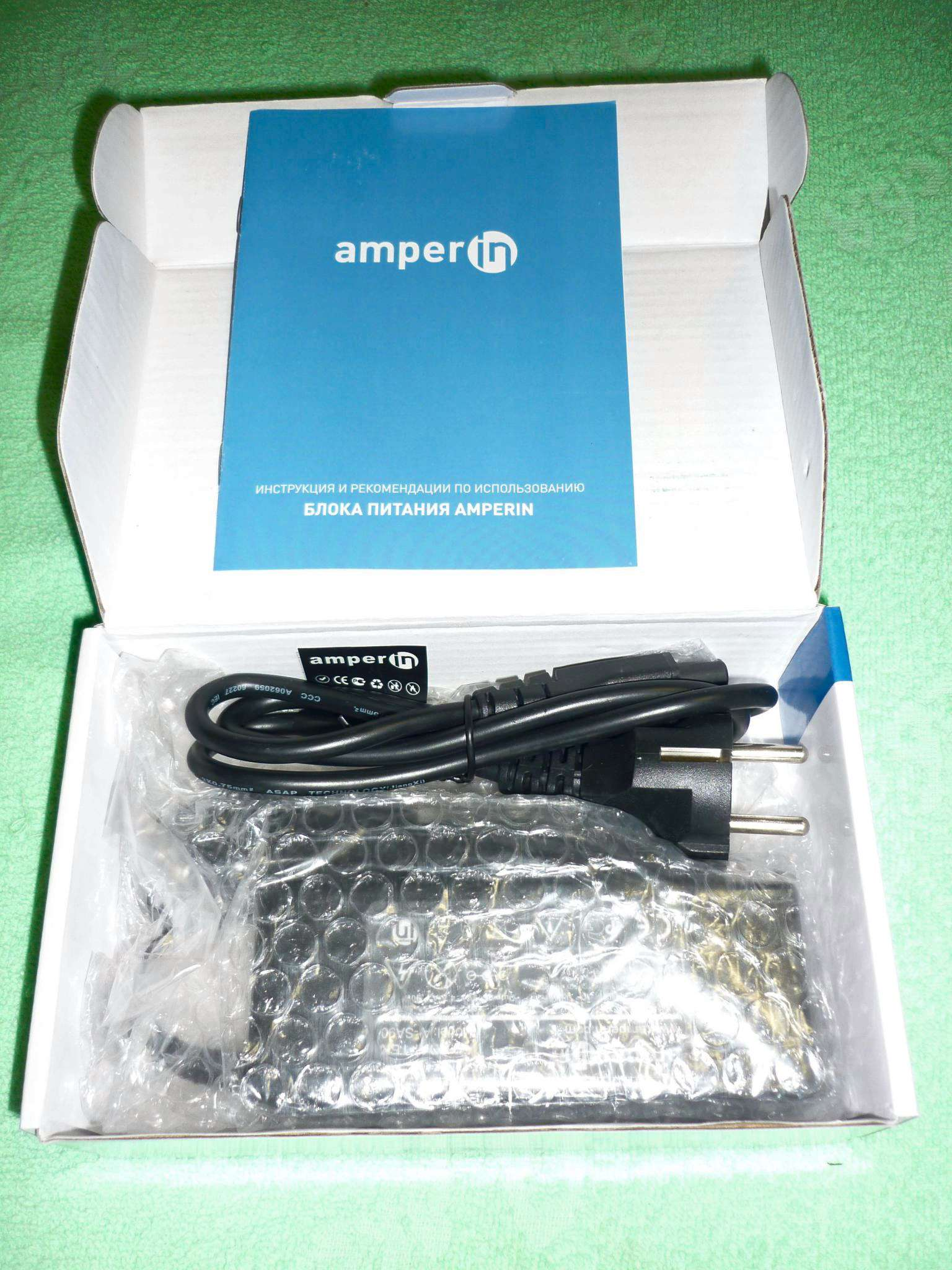 Блок питания Amperin AI-AS65 для ASUS 19V 3.42A 5.5x2.5mm 65W