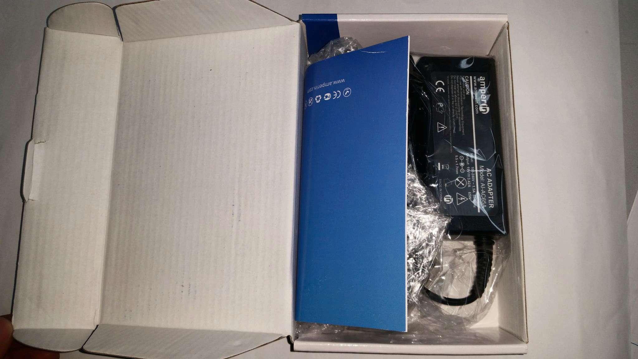 Блок питания Amperin AI-HP65A для HP 18.5V 3.5A 7.4x5.0mm 65W