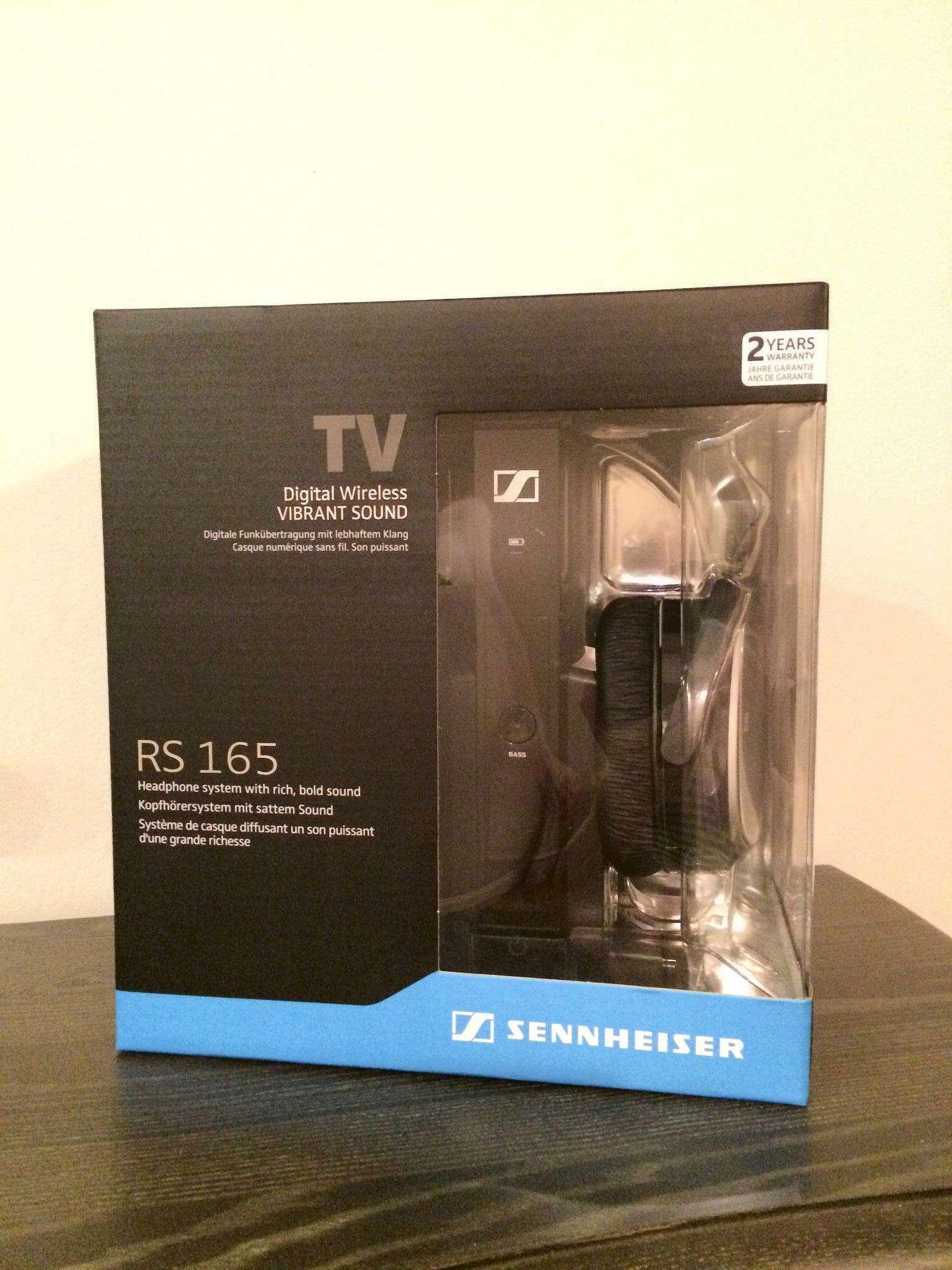беспроводные наушники Sennheiser Rs 165 купить в интернет магазине
