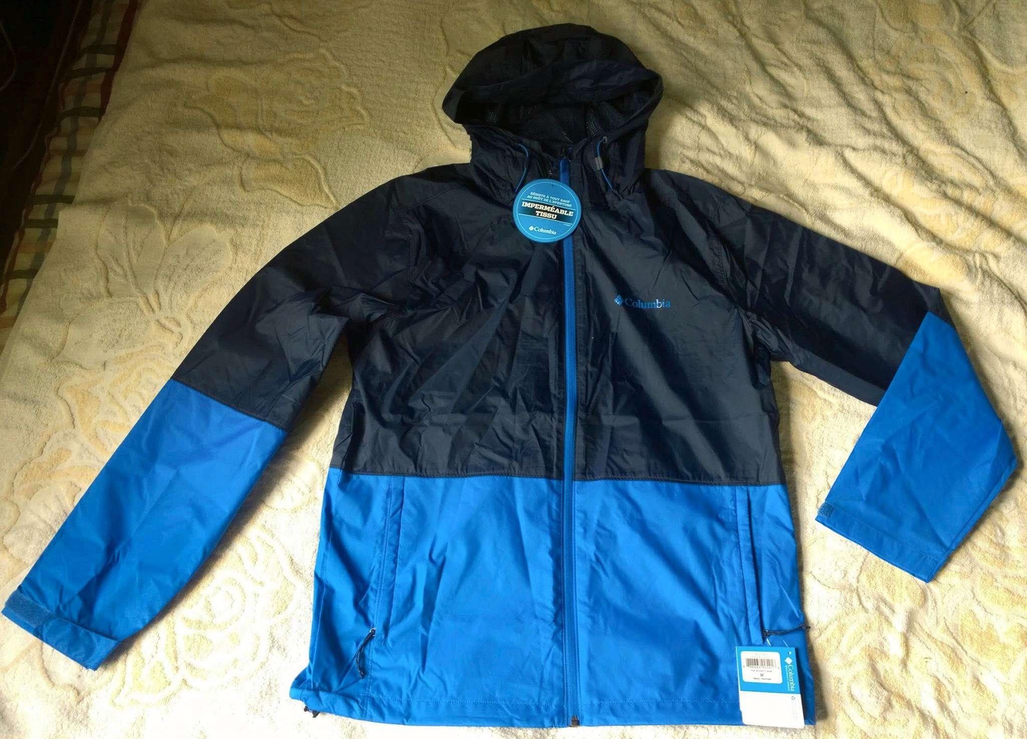 04ee18c2eed3 Ветровка Columbia 1580231-465 мужская, цвет синий, рус. размер 46-48 ...