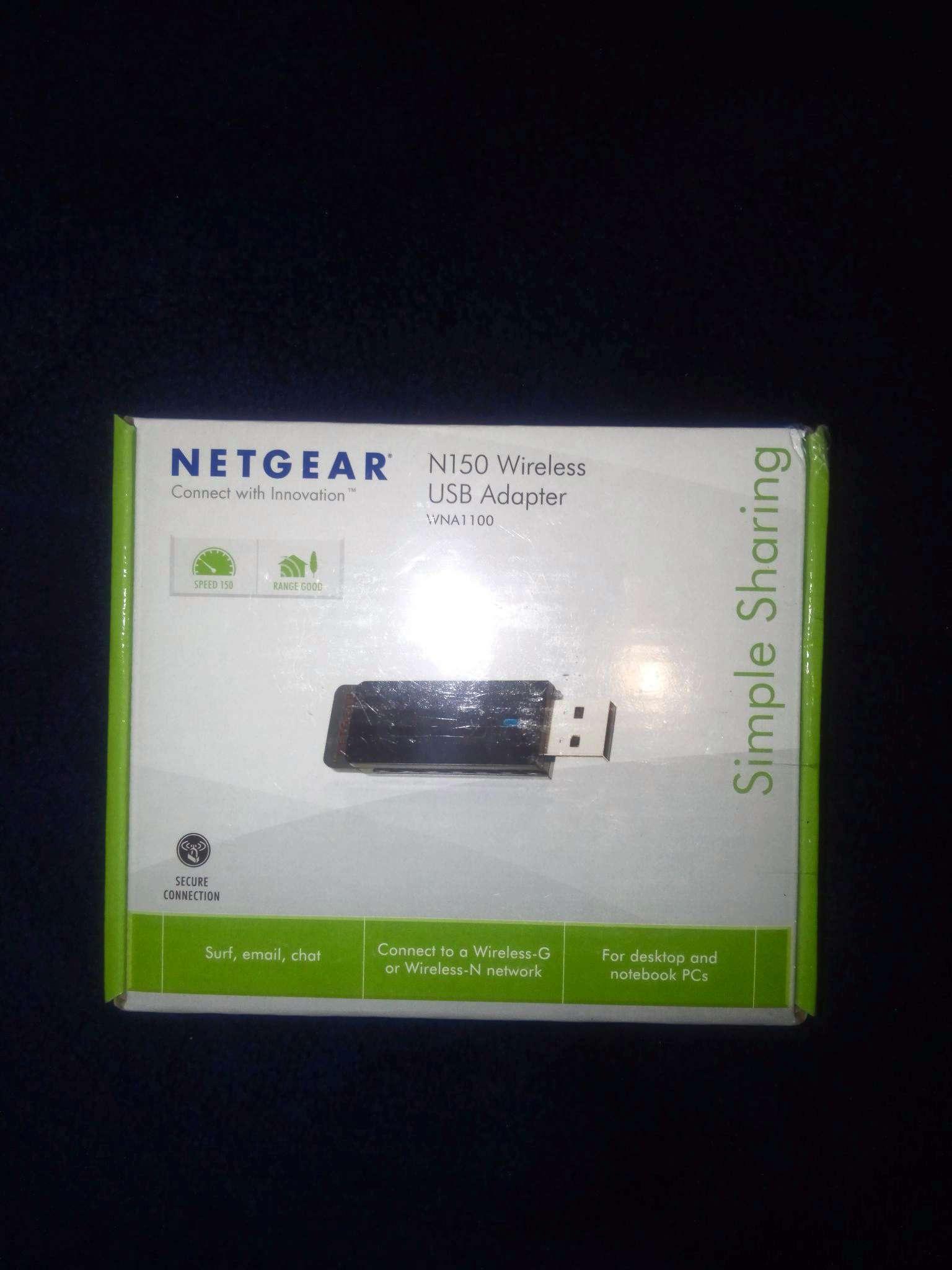 Becoming Phill) Netgear n150 wireless usb adapter wna1100